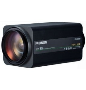 "Fujinon FH32x15.6SR4A-CV1 Lens 2/3 ""Full HD 32x Motorized Zoom - Analog Control Video Switch, RS232C"