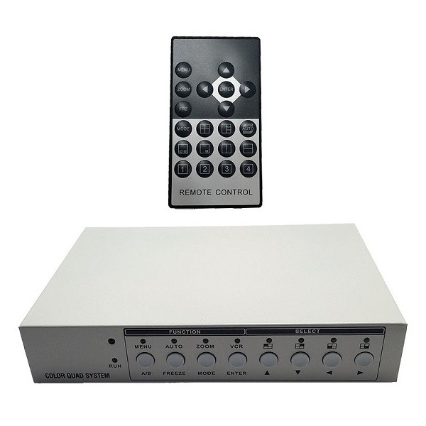 QUAD-404HD AHD CVI TVI QUADRAVISION FULL HD VGA HDMI