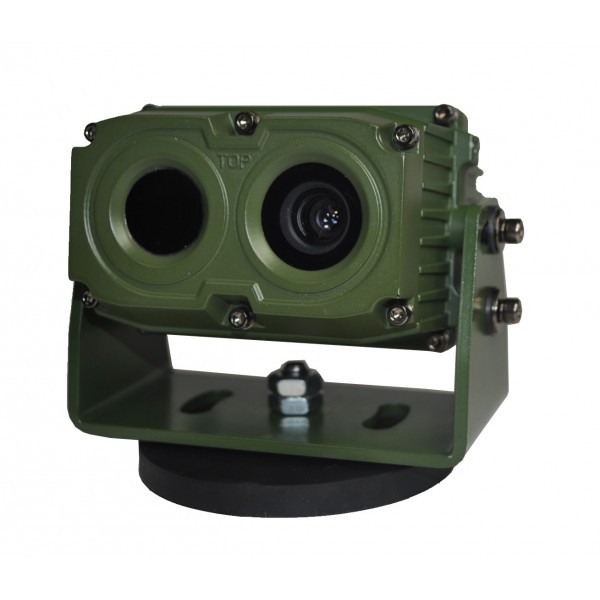 Camera thermique fusion pour véhicules