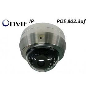 UW-3990DIP Dôme fixe IP inox ONVIF