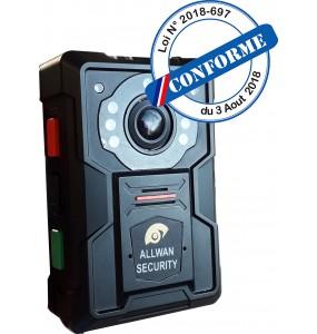 DS-MH2211 V2 Camera piéton Bodycam 1080p Police Municipale, Police Nationale