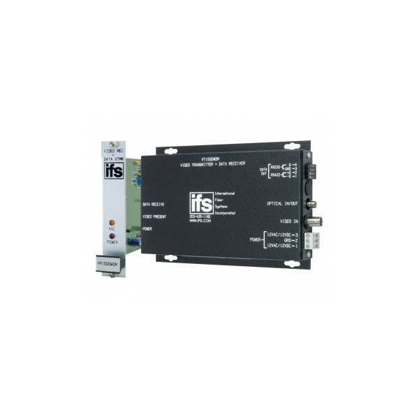 VT / VR1500 Series IFS Video Receiver / Receiver with Unidirectional Data
