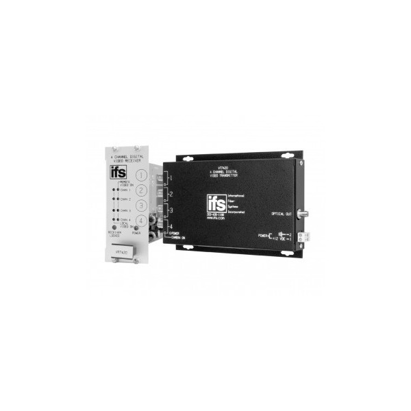 VT / VR7400 Series IFS 4 Channel Digital Coded Video Multiplexer