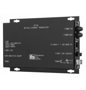 D7100 Series 10/100 Mbps IFS Ethernet Optical Transceiver