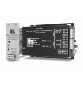 VADT / VADR14100WDM IFS Series Video with 2-way stereo audio, 2 data channels and reverse sync