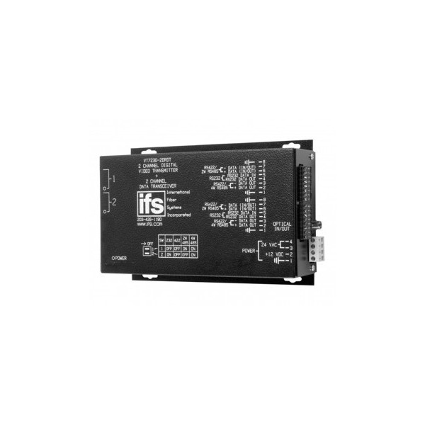 VT / VR7200-2DRDT Series 2-Channel IFS Digitally Encoded Video Bidirectional Data Multiplexer