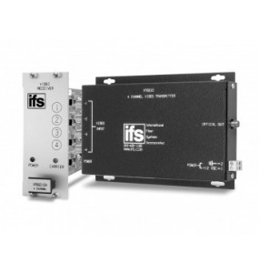 VT / VR6010 Series IFS 4 Channel Video Multiplexer