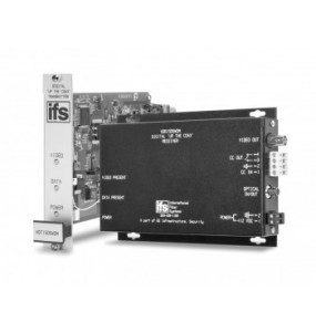 "VDT / VDR1505WDM Series Digitally encoded IFS video with ""Up-the-Coax"" unidirectional data"