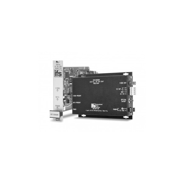 """VDT / VDR1505WDM Series Digitally encoded IFS video with """"Up-the-Coax"""" unidirectional data"""
