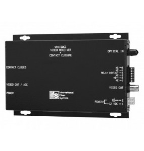 VR1100CC Series IFS AM Receiver Video with AGC and Contact Closure