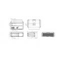 ANPR Camera surveillance de trafic, radar haut performance Vega Smart HD Lecteur de plaques