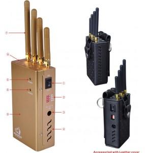 TG-120D-PRO Brouilleur Portable Wfi GPS de téléphone portable