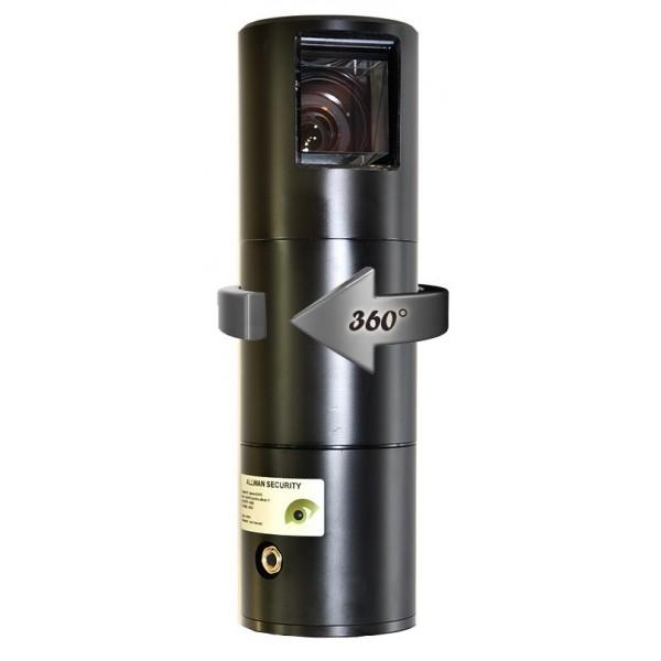 TELESCOPCAM STARVIS ULL camera PTZ motorisée 360° Ultra Low Light HD-IP Couleur pour police et gendarmerie