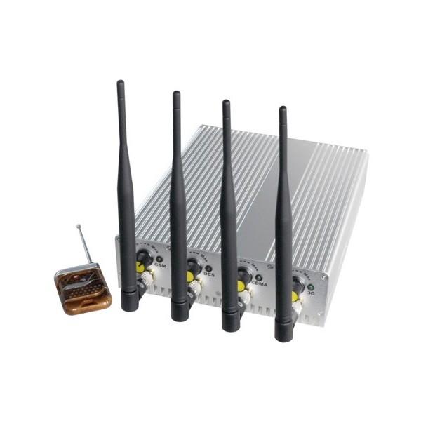 TG-101B-PRO - Brouilleur Wifi / GPS de téléphone portable et de signal cellulaire