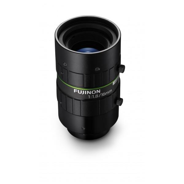 """Fujinon Objectif 4D Haute Résolution HF1618-12M 2/3"""" 16mm F1.8"""