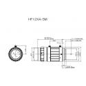 """Objectif 4D"""" Haute Résolution HF12XA-5M 2/3 """"12mm F1.6"""