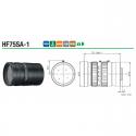 """Objectif Iris manuel HF75SA-1 2/3 """" 75mm F1.8"""