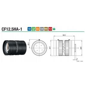 "Objectif CF12.5HA-1 1 "" 12,5 mm F1.4"