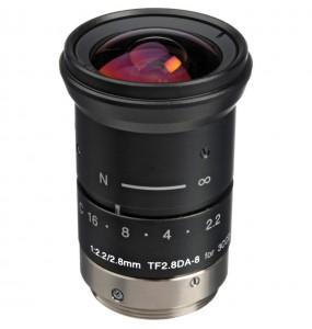 Objectif Fujinon TF2.8DA-8 2.8mm F / 2.2 pour Cameras 3CCD