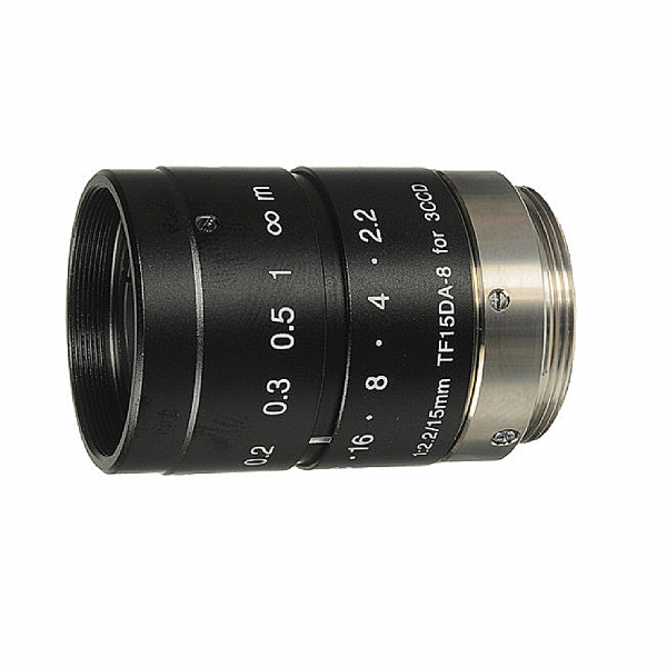 "Objectif TF15DA-8 1/3"" 15mm F2.2 pour camera 3CCD /CMOS"