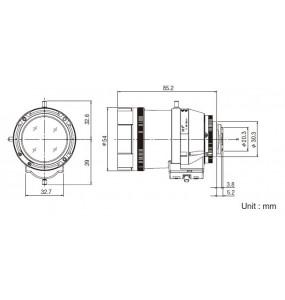 Vari-Focal Longue Portée Exterieur DV10x8SR4A-SA1L Fujinon
