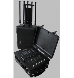 TG-VIP JAMM - Valise Tactique de Brouillage Portable RF Batterie rechargeable
