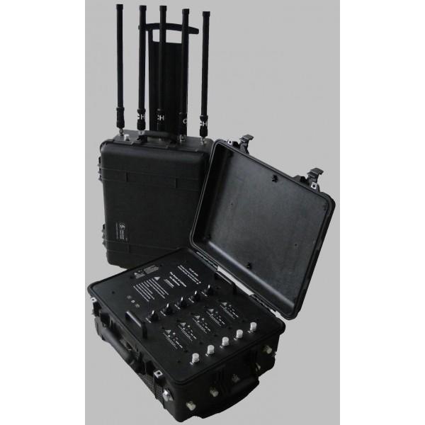 Valise Tactique de Brouillage RF Portable TG-VIP JAMM