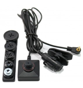 BU-19 - Hidden Cable CCD Camera Kit
