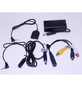 CM-DC10 Caméra vidéo filaire avec cordon d'alimentation