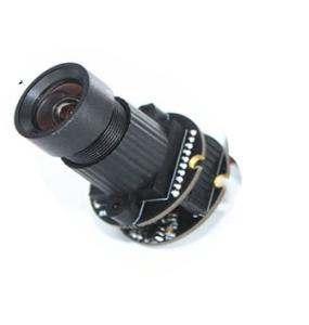 Module de caméra USB HBVCAM, objectif rond 5MP à connexion fixe 5PIN USB2.0 avec protocole UVC