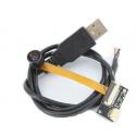Module de caméra 5 MP cmos USB HBVCAM à mise au point fixe haute résolution