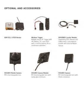 GEM-CELL LTE - Audio / vidéo dissimulé, à long terme, stockage et transmission via des réseaux de données
