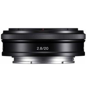 Sony Objectif appareil photo de type E 20mm 2.8 Monture E