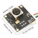 UVC1708F Mini camera UVC Autofocus Pinhole 5MP