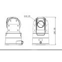 Camera Dôme Motorisé PTZ WiFi 4G
