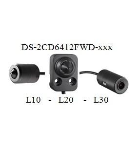 Caméra IP miniature DS-2CD6412FW