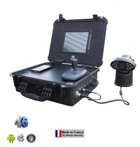 Valise de surveillance mobile 4G économique EH1004H-3G hybride 4 voies Allwan