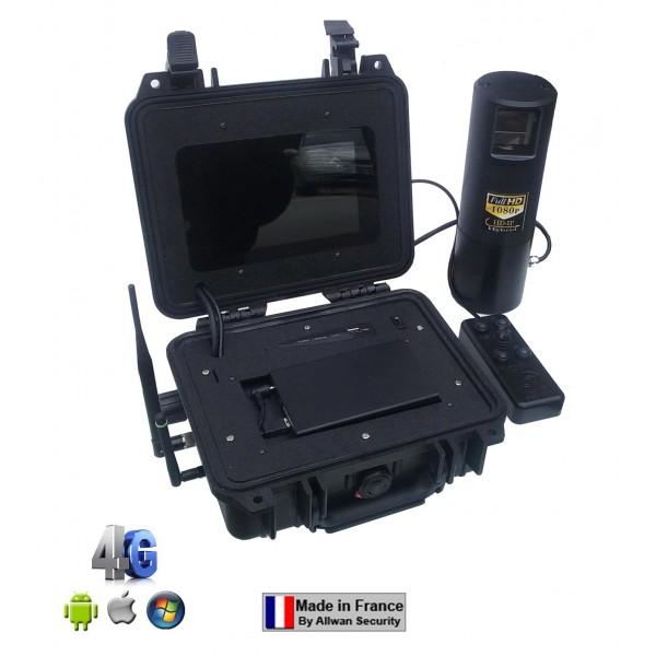 Valise de surveillance mobile 4G WiFi VH100496 hybride 4 voies Allwan