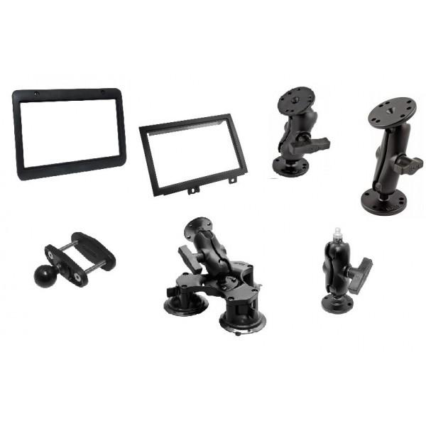 Accessoires de fixation installation et montage d'écran Orlaco 7 pouces et 12 pouces 0207910 0208622