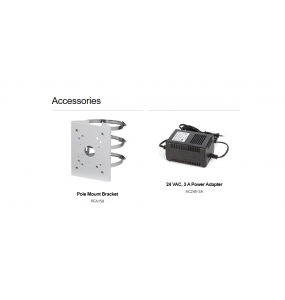 8A840WANF - Caméra de surveillance dôme PTZ IR 4K IR 40x Starlight PTZ avec Analytics +