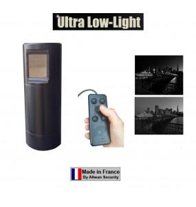 TELESCOPCAM ULL NB tourelle de surveillance PTZ motorisée 360° Ultra Low Light N&B pour forces de police et de gendarmerie