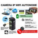 IPW-PIR Mini caméra WIFI audio vidéo longue autonomie avec détecteur de présence PIR et vision nocturne IP65