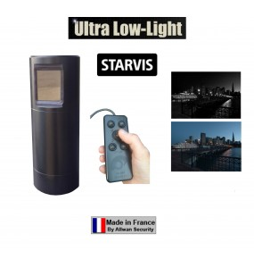 TELESCOPCAM STARVIS ULL camera PTZ motorisée 360° Ultra Low Light HD-IP Couleur pour police et gendarmerie