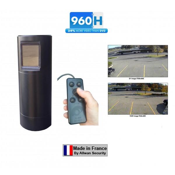 TELESCOPCAM 960H ANALOGIQUE COULEUR tourelle de surveillance PTZ motorisée 360°