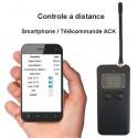 Batterie connectée managent télécommande radio 433Mhz avec afficheur
