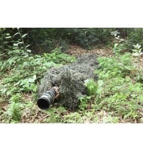 Couverture de camouflage Ghillie Verte