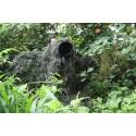 Ghillie Verte - Couverture de camouflage pour missions en pleine nature