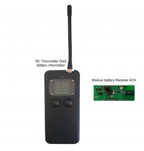 RC Emetteur Recepteur Télécommande radio 433Mhz batterie IoT SB-RC02 pour batterie lithium serie smart battery IoT 433 Mhz