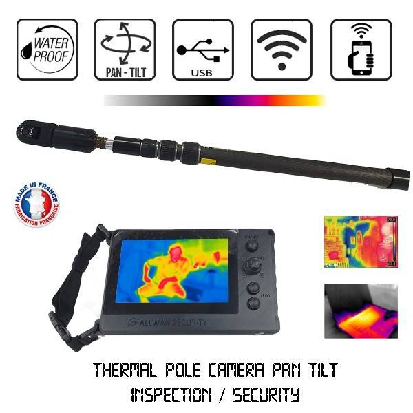 Camera Perche Thermique infrarouge Visiopole