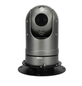 Caméra IP motorisée Dôme PTZ Rotation 360° Vision Nocturne avec Support Magnétique